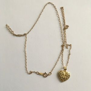 1/20 14K GF Gold Heart 💛 Pendent Necklace